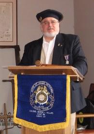 Camp Commander David Dziewulski