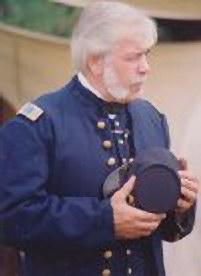 Camp Commander Richard E. Straight