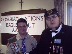 Aaron Anthony Chojecki of Scotia, NY - SUVCW Eagle Scout Certificate
