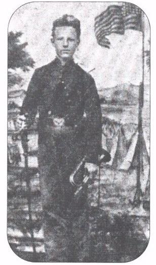 Bugler John Cook - Civil War