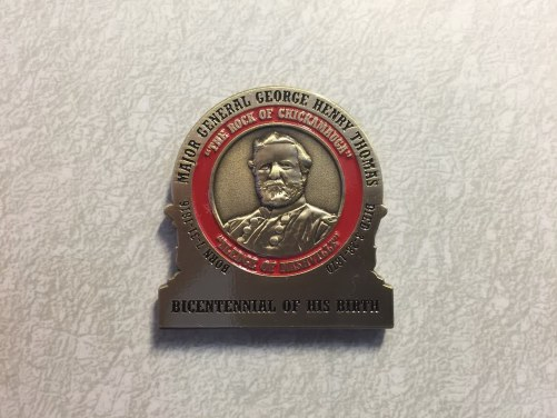 FRONT - General George H. Thomas Challenge Coins
