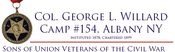 Col George L Willard Camp 154  NY SUVCW