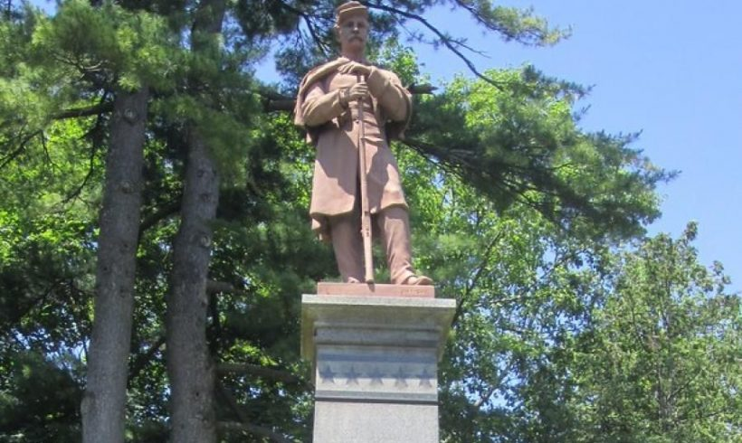 GoFundMe Page to Raise Funds to Restore Civil War Monument in Congress Park in Saratoga Springs